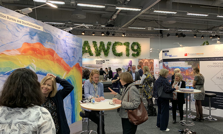 AWC19 - Exhibition - Another view