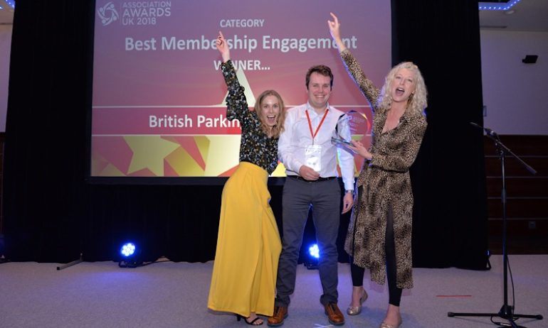 Winner, Best Membership Engagement: British Parking Association, 2018