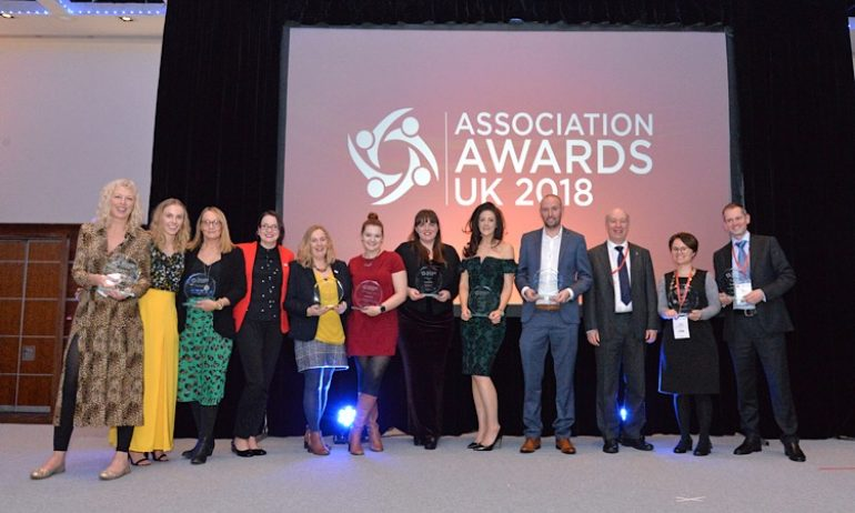 All Winners, Association Awards UK 2018