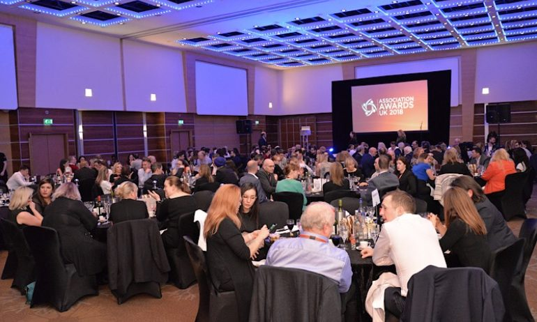 Association Awards UK 2018 - Dinner
