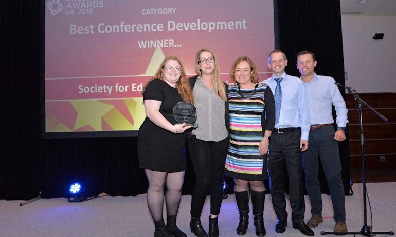 Winner, Best Conference Development: Society for Education and Training, 2018