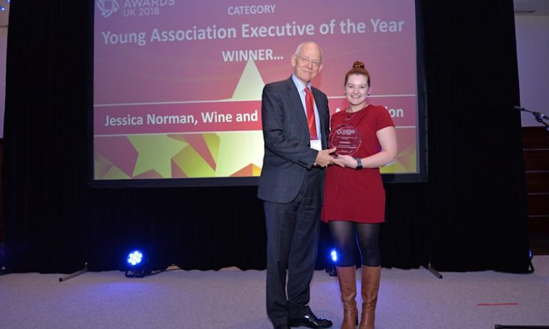 Winner, Young Executive of the Year, Jessica Norman, WSTA, 2018