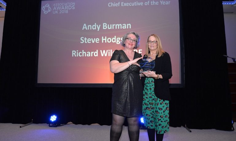 Winner, Executive Director of the Year, Richard Wilson OBE, TIGA, 2018